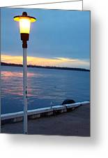 Sunset In December Greeting Card