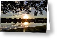 Sunset In Florida Greeting Card