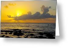 Sunset In Kauai Greeting Card