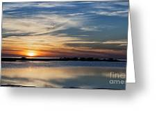 Sunset In The South Greeting Card