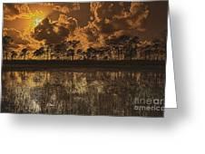 Sunset Jd II Greeting Card