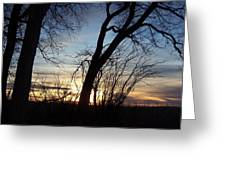 Idaho Sunset 1 Greeting Card