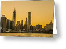 Sunset Ny Greeting Card