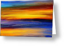 Sunset Of Light Greeting Card