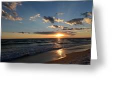 Sunset On Alys Beach Greeting Card