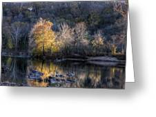 Sunset On Billy Goat Trail Greeting Card