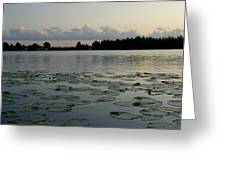 Sunset On Grand Lake Greeting Card