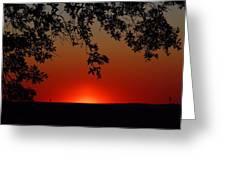 Sunset On Jekyll Island Greeting Card