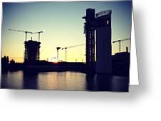 Sunset On Sevilla Greeting Card