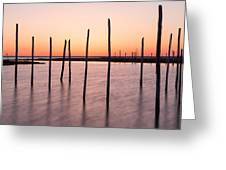 Sunset On The Bay I Greeting Card