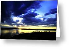 Sunset Over Aurora II Greeting Card