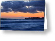 Sunset Over Dana Point Greeting Card