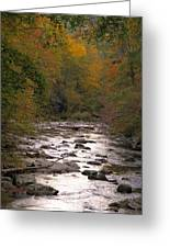 Sunset Over Little River Greeting Card