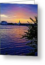 Sunset Over New Orleans 1 Greeting Card