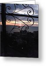 Sunset Over Puerto Vallarta Greeting Card