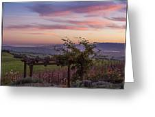 Sunset Over Sonoma Coast Greeting Card