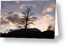 Sunset Ridge Greeting Card