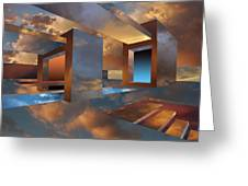Sunset Room Greeting Card