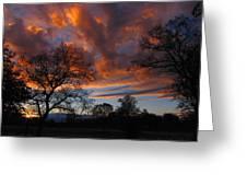 Sunset September 24 2013 Greeting Card