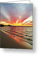 Sunset Streaks Greeting Card