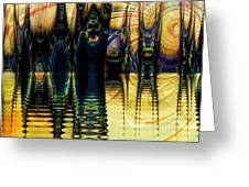 Sunset Surreal Greeting Card