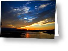 Sunset  Greeting Card by Tim Buisman