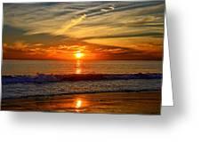 Sunset's Glow  Greeting Card