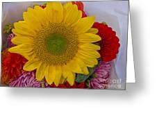 Sunshine Bouquet Greeting Card