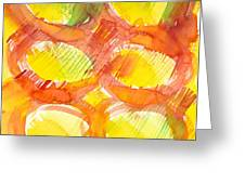 Sunshine Circles Greeting Card