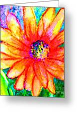 Sunshine Flower Greeting Card