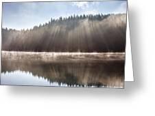 Sunshine Lake Greeting Card