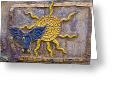 Sunshine Loving A Bluebird Greeting Card