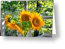 Sunshine Morning  Greeting Card