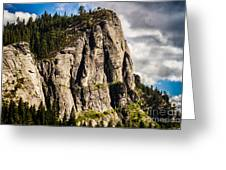 Sunshine On Lovers Leap Greeting Card