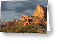 Sunshine On Sedona Rocks Greeting Card