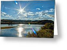Sunshine On The Missouri Greeting Card