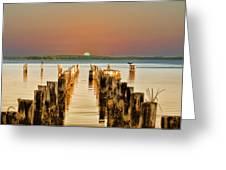 Sunshine State Sunset Greeting Card