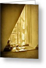 Sunshine Through The Window Greeting Card