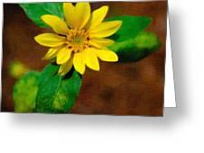 Sunshine Yellow Greeting Card
