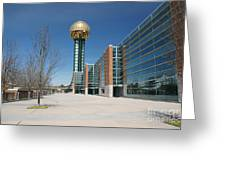 Sunsphere Knoxville Tn Greeting Card