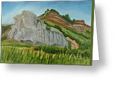 Suntrana Sandstone Greeting Card by Amy Reisland-Speer