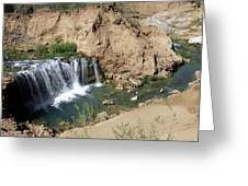 Supai Falls Greeting Card