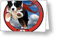 Super Berner Greeting Card