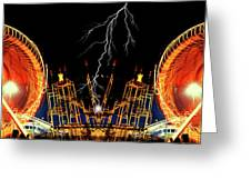 Super Charge My Ride Greeting Card