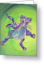 Super Kitty Greeting Card