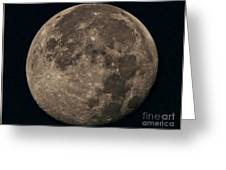 Super Moon 3628 August 2014 Greeting Card