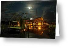 Super Moon At Nelsons Greeting Card