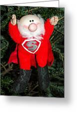 Super Santa Greeting Card