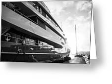 Super Yacht Greeting Card