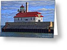 Superior And Duluth Harbor Lighthouse Greeting Card